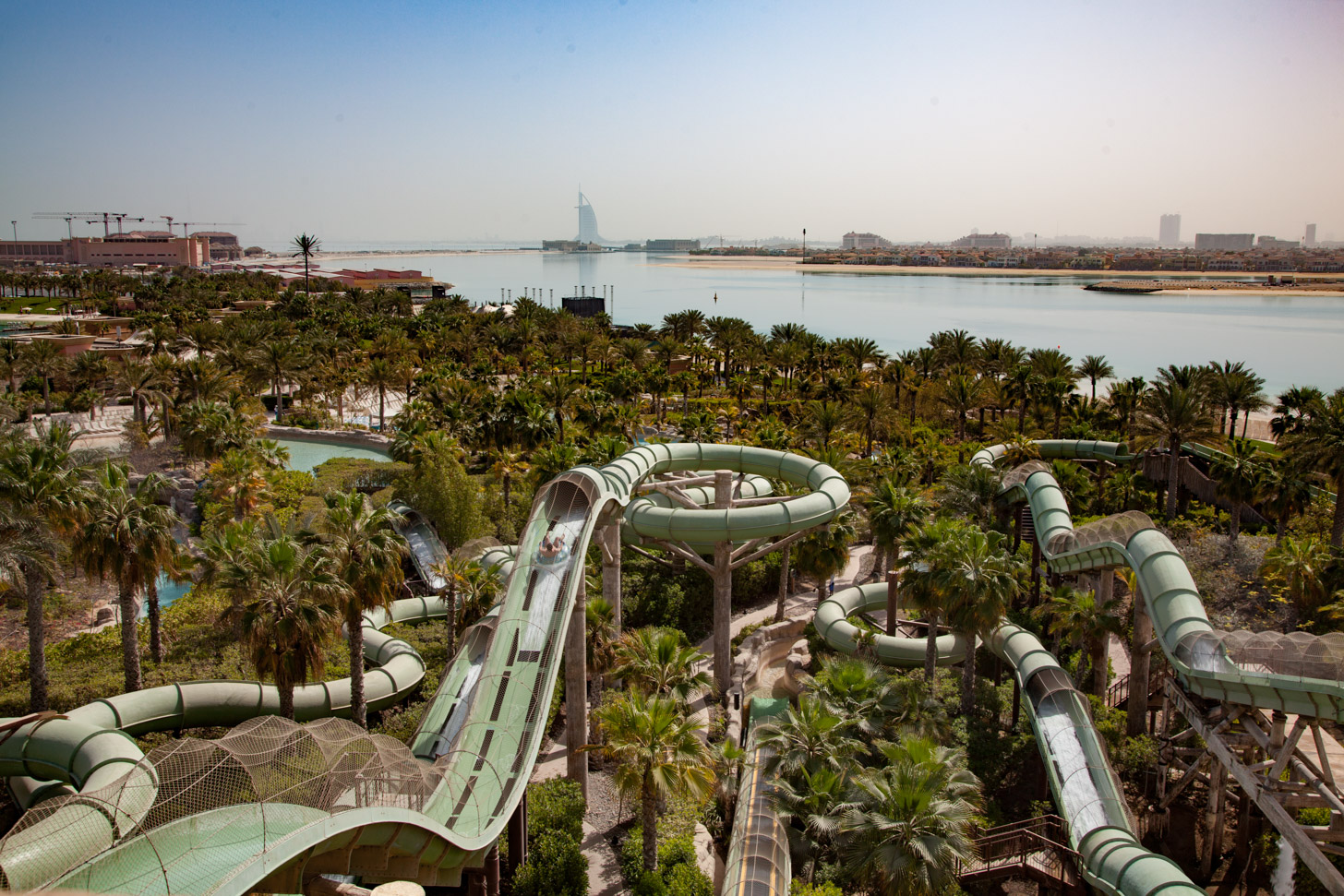 Aquaventure Waterpark; één van de waterparken in Dubai