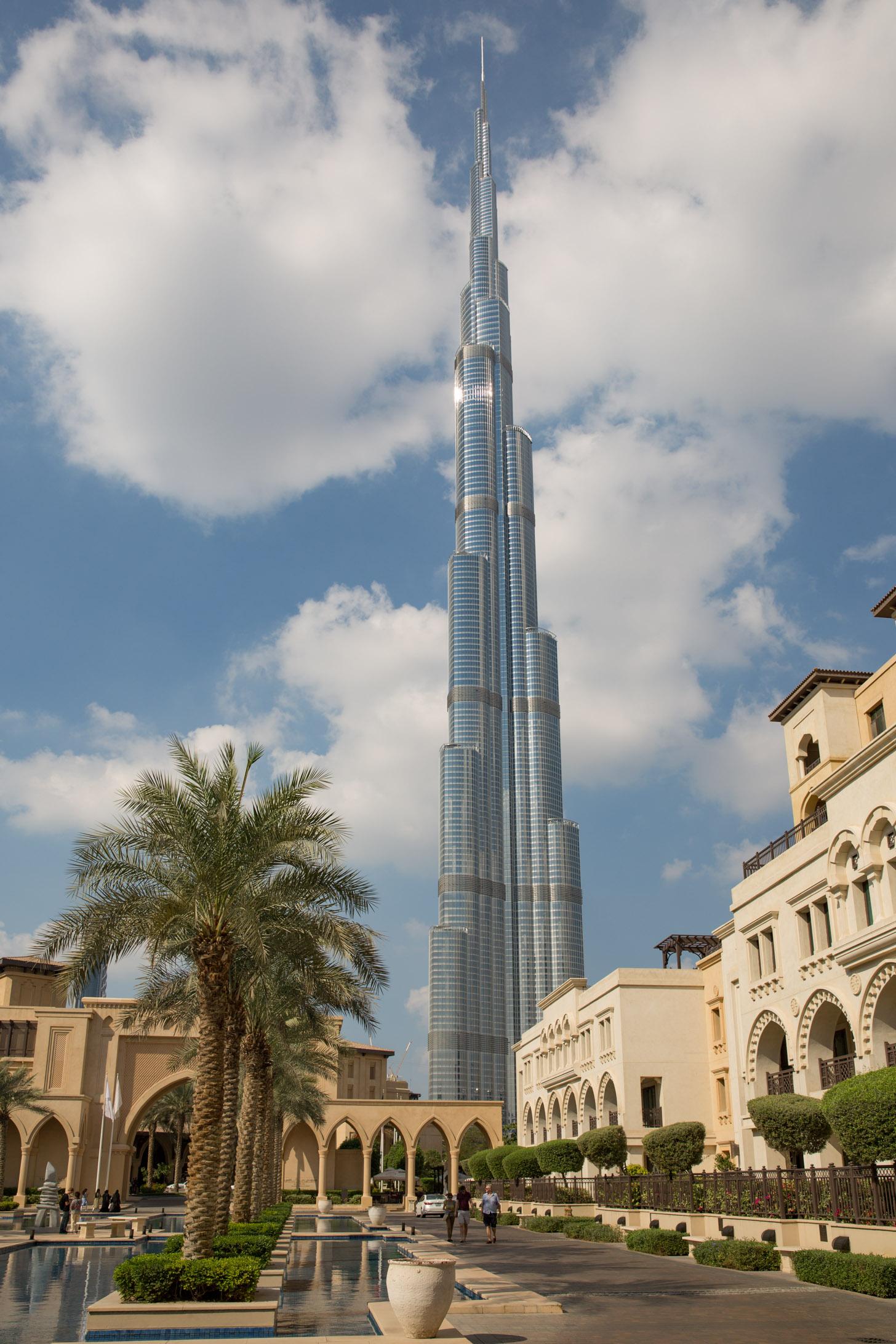 Op dit moment nog het hoogste gebouw ter wereld: Burj Khalifa.