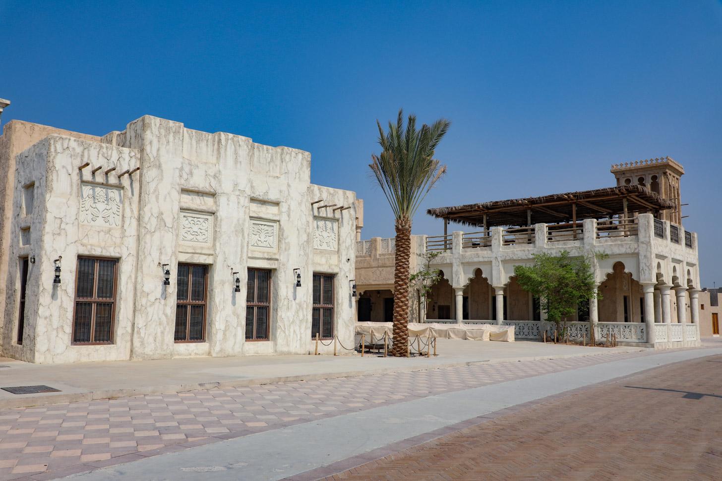 Het oude deel van Dubai
