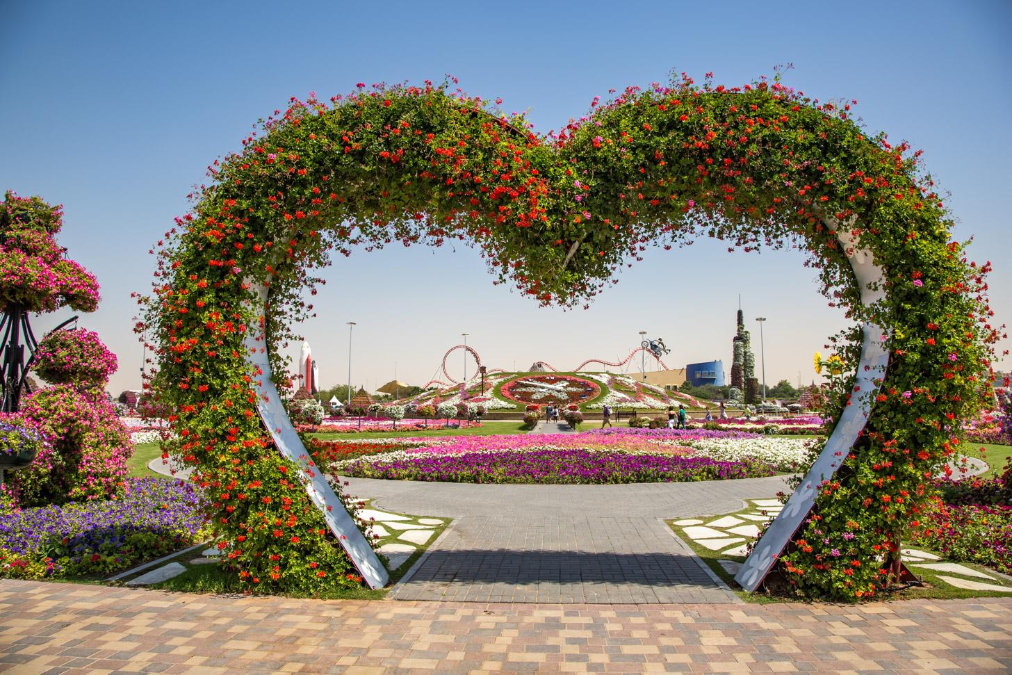 Miracle Garden: de prachtige bloementuin van Dubai