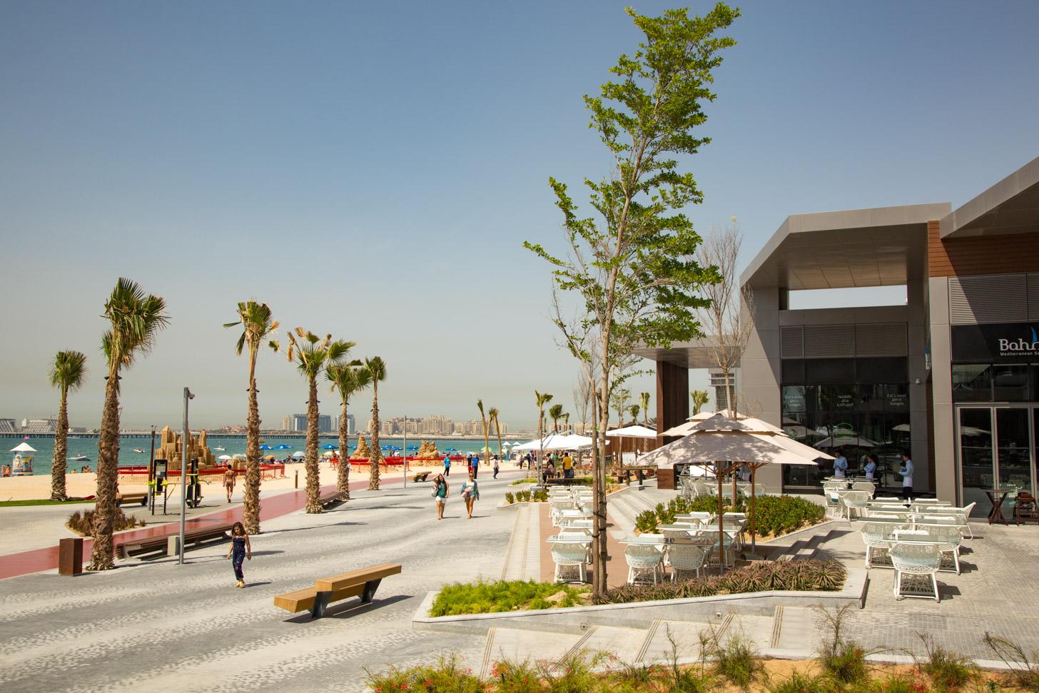 The Beach is een van de leukste plekken in Dubai